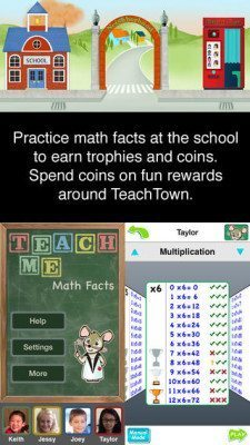 TeachMe: Math Facts 1.0
